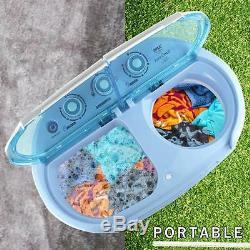 Pyle Compact Et Portable Laveuse Et Sécheuse, Lave-linge Et Mini Spin Sèche-linge
