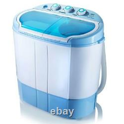 Pyle Pucwm22 2 En 1 Portable Compact Mini Top Load Washing Machine & Spin Dryer