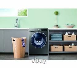 Samsung Quickdrive + Addwash Ww80m645opx Puce 8 KG 1400 Spin Machine À Laver
