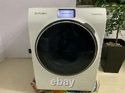 Samsung Ww10h9600 Machines À Laver Blanches 10kg 1600rpm Wifi