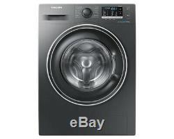 Samsung Ww80j5555ex 8kg 1400rpm Graphite Ecobubble Lave-linge