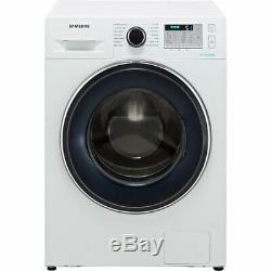Samsung Ww80j5555fa Ecobubble A +++ Noté 1400 RPM 8 KG Lave-linge Blanc
