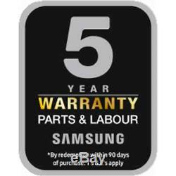 Samsung Ww80j5555fc Ecobubble A +++ Noté 1400 RPM 8 KG Lave-linge Graphite