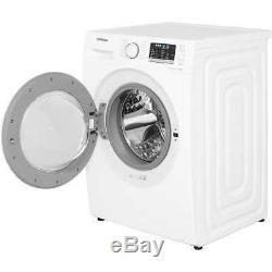 Samsung Ww80j5555mw Ecobubble A +++ Noté 1400 RPM 8 KG Lave-linge Blanc