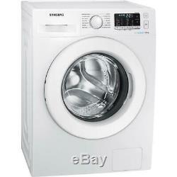 Samsung Ww90j5455mw De 1400 Spin Ecobubble Lave-linge + 5 Ans De Garantie