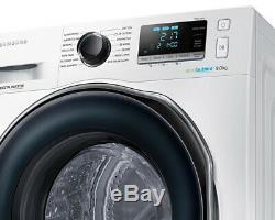 Samsung Ww90j6410cw 9kg 1400rpm Blanc Ecobubble Lave-linge