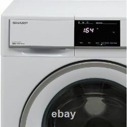 Sharp Es-hfb0143wd-en D 10kg 1400 RPM Machine De Lavage Blanc Nouveau