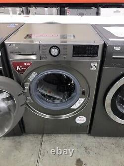 Tout Nouveau Lg Ai DD V3 F4v309sne 9 KG 1400 Spin Washing Machine Graphite